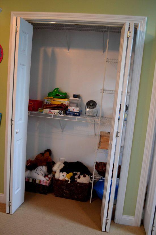 PR the closet before