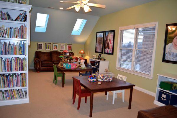 PR playroom after
