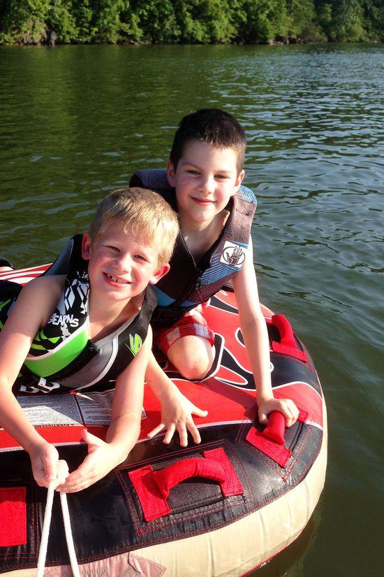 C and c on lake