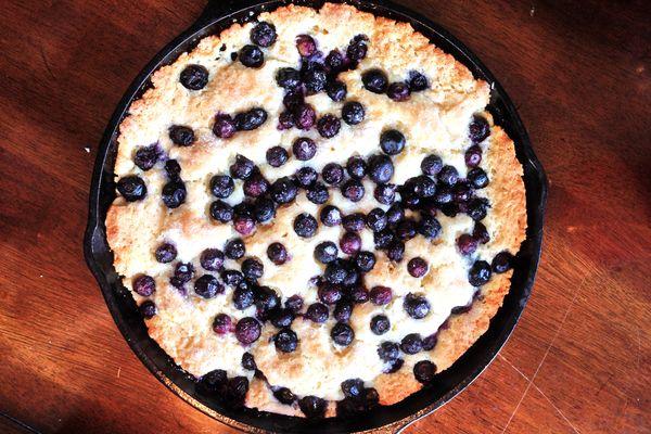 Blueberry skillet