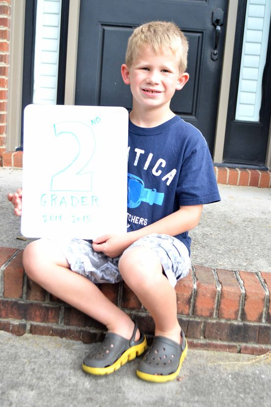 C 1st day 2nd grade