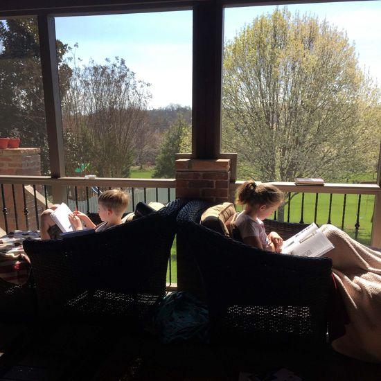 YE march porch