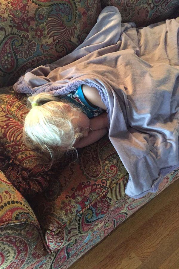 A a sleeping