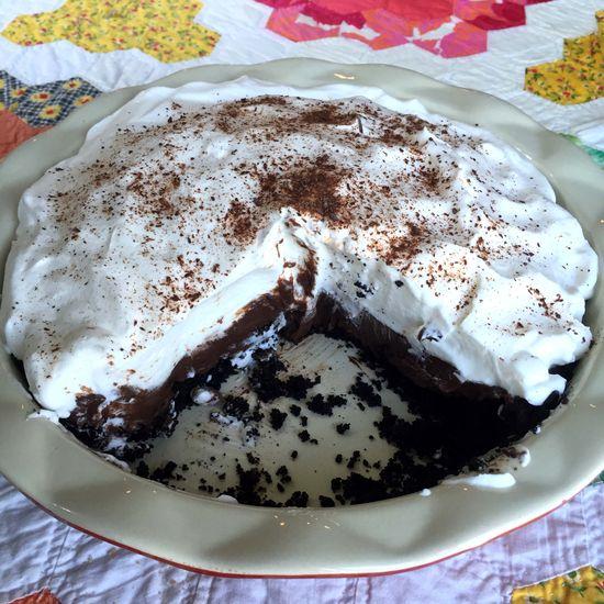 FD15 chocolate pie